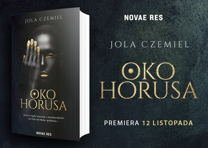 Oko Horusa - powieść